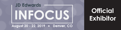 JD Edwards INFOCUS Offical Exhibitor