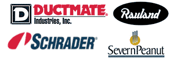 Ductmate Industries, Justrite Manufacturing, Rauland-Borg Corporation, Schrader International, Severn Peanut