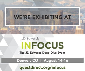 The JD Edwards Deep Dive Event