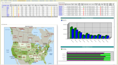 Dashboards give executives the green light  for business visibility